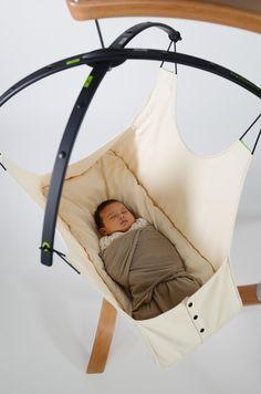 Amazon.com : Hushamok Okoa Stand and Organic Hammock : Nursery Beds : Baby