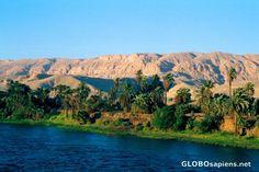 - The Nile Valley - Sahara's mountains - Edfu Egypt