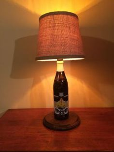 Stout Tropper Beer Lamp #beerlamp #ilovebeer #bottlecraftbytom