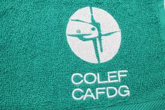Algunos ejemplos de toallas de algodón bordadas con diferentes logos de clientes. Lululemon Logo, Spa, Logos, Logo