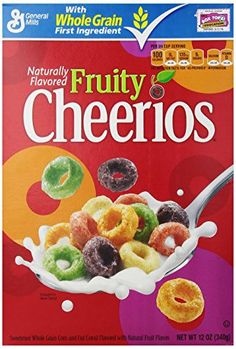 General Mills Cereals Fruity Cheerios Cereal, 12 Ounce - http://sleepychef.com/general-mills-cereals-fruity-cheerios-cereal-12-ounce/