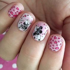 Feelin the love with Disney Mickey Mouse & Minnie Mouse. Great mani @listonberries! #Disney #Jamberry #disneycollectionbyjamberry Jamberry Disney, Jamberry Nail Wraps, Jamberry Style, Jamberry Combos, Disney Nails, Mickey Mouse Nails, Minnie Mouse, Pink Manicure, Fun Nails