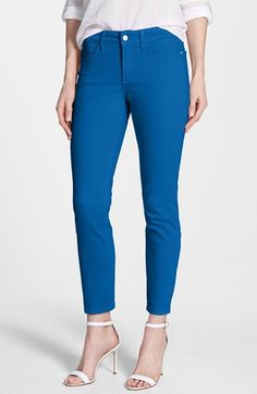 Women's NYDJ 'Clarissa' Colored Stretch Skinny Ankle Jeans