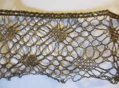 Vintage Woven WIre Lace Trim Gold And Black by LeapingFrogDesigns, $15.95
