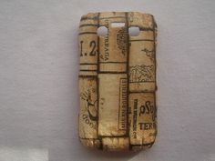 Brown Book decoupage case for Blackberry 9700 / Blackberry 9780 / cover case / hard case / accessories on Etsy, ฿493.20