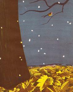 **Johnny Maple-Leaf  written by Alvin Tresselt, illustrated by Roger Duvoisin (1948).