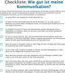 30 Kriterien Fur Gute Kommunikation Checkliste Kommunikation Kommunikation Lernen Nonverbale Kommunikation