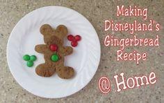 The Disney recipe for Disneyland's Gingerbread