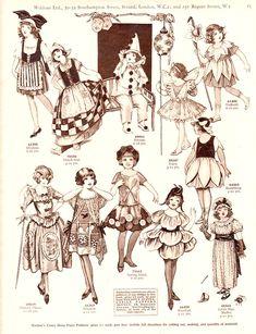 The Paper Collector: Weldon's Children's Fancy Dress, c. 1920s