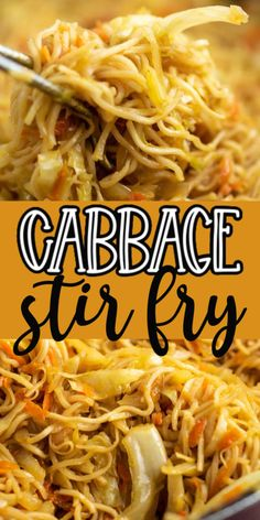 Stir Fry Recipes, Vegetable Recipes, Vegetarian Recipes, Cooking Recipes, Healthy Recipes, Top Ramen Recipes, Noodle Recipes, Cabbage And Noodles, Cabbage Stir Fry