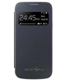 Samsung i9190 Galaxy S4 Mini S-View Cover - Blauw