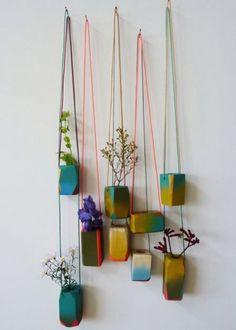 Suspendre les plantes aux murs