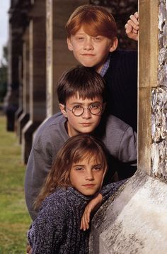 Rupert grint who will play ron weasley, daniel radcliffe who will play harry potter and Harry Potter Tumblr, Harry Potter Hermione, Harry Potter World, Harry Potter House Quiz, Harry Potter Funny Pictures, Mundo Harry Potter, Harry Potter Wizard, Harry Potter Pictures, Harry Potter Houses