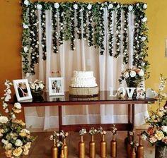 Ideas For Wedding Flowers Decoration Tea Parties Wedding Ceremony Ideas, Diy Wedding, Rustic Wedding, Wedding Flowers, Reception, Wedding Day, 50th Wedding Anniversary Decorations, Flower Decorations, Wedding Decorations