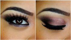 Soft purple celebrity wedding eye makeup | AmazingMakeups.com