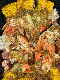 Add this spicy sauce to your favorite seafood boil, and use some on the side to dip the yumminess in! Cajun Seafood Boil, Seafood Boil Party, Seafood Boil Recipes, Crab Boil, Seafood Dinner, Shrimp Recipes, Fish Recipes, Frozen Seafood, Recipies