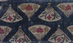 KOWATARI INDIAN SARASA CHINTZ ・ 扇子手日本古渡り印度更紗