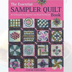 #Lynne edwards's the essential #sampler quilt book, new paperback #9780715336137,  View more on the LINK: http://www.zeppy.io/product/gb/2/351916466640/