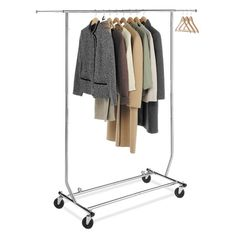 "Found it at Wayfair - 65.63"" H x 71.25"" W x 23.5"" D Commercial Folding Garment Rack http://www.wayfair.com/daily-sales/p/Clutter-Free-Closet-65.63%22-H-x-71.25%22-W-x-23.5%22-D-Commercial-Folding-Garment-Rack~YES1245~E16243.html?refid=SBP"