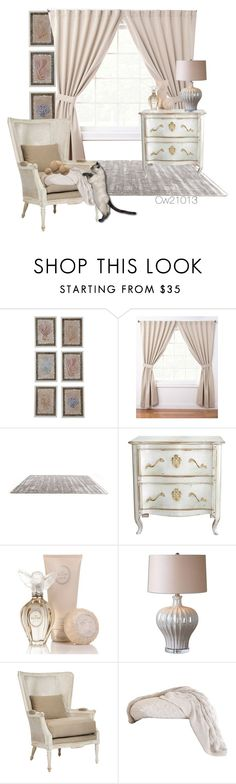 """""""Untitled #1495"""" by cw21013 ❤ liked on Polyvore featuring interior, interiors, interior design, home, home decor, interior decorating, ExceptionalSheets, Moissonnier, Jennifer Lopez and Uttermost"""