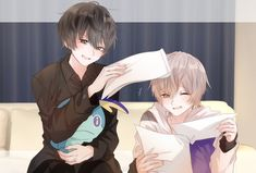 Cute Anime Character, Character Art, Vocaloid, Anime Chibi, Anime Art, Anime Drawing Styles, Kurotsuki, Cute Anime Boy, Anime Couples