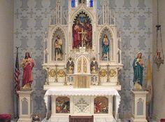 St. John the Baptist altar