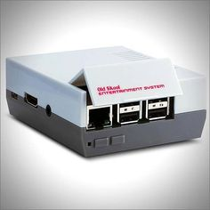 Give your Raspberry Pi a classic look that you've grown to love. This Raspberry Pi NES Case was inspired by the old school Nintendo Entertainment System and will fit Raspberry Pi Model B+, 2 and 3. The NES-style cartridge door provides easy access to the sd-card and all ports, visit http://shortrobot.com  #technology #newtech #nes #nintendo #raspberrypi #videogames #emulator #emulation #gamer #games #retro #oldschool