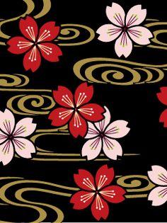 粋屋-日本の伝統文様と伝統色 和柄無料携帯待受け一覧