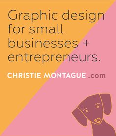 Need graphic design services? I do graphic design for small businesses and entrepreneurs. Check out my portfolio.