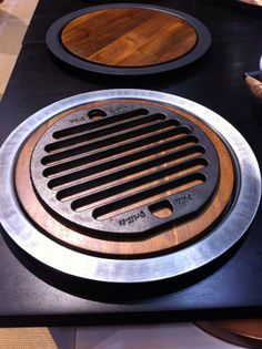 Fajita style serving platter after your Pan Grill-it is heated either in the oven or skillet.