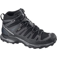 SALOMON Men s X Ultra Mid GTX Hiking Boots - Eastern Mountain Sports  Salomon Hiking Boots de640136efd