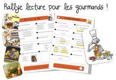 Rallye lecture » Alimentation» pour les gourmands ! | Bout de Gomme