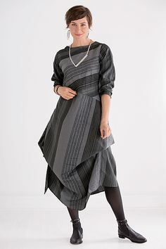 Madison Striped Dress
