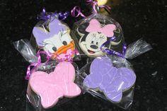 Minnie and daisy cookies by Ladybugcakesdotcom on Etsy