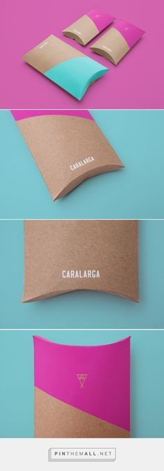 CARALARGA Jewelry Packaging designed by Sociedad Anónima​ - http://www.packagingoftheworld.com/2015/12/caralarga.html