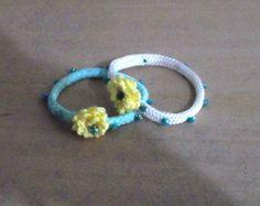 pulseiras infantis florzinha