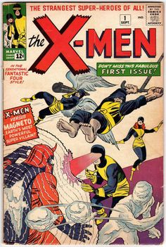 The X-Men, co-created by Stan Lee and Jack Kirby, first appeared in X-Men September They have remained an important part of the Marvel publishing and cinematic Universe since then. Marvel Comics, Marvel 616, Action Comics, Iceman Marvel, Marvel Xmen, Archie Comics, Comic Book Superheroes, Marvel Comic Books, Comic Book Characters