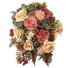 800x800 1430249084558 earthtones with david austin roses wedding bouquet