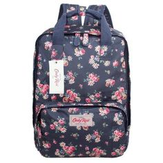 Candy Rose Vintage Floral Print Women Backpack Handbag Travel Bag School Bag for…