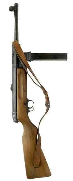Haenel (MP41). Developed at Haenel by Hugo Schmeisser, using the MP40 receiver,barrel and magazine, mated with Schmeisser's MP28II stock and firing mechanism. Only 27,000 made. Not used by the German military. Some were sold to the German police forces, and many ended up in the Balkans with pro-German paramilitary units.(Slovenia; Croatia; Romania). A little known fact is that Haenel and Schmeisser were sued for patent infringement by ERMA. They lost in 1944, and had to pay compensation.