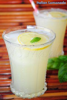 US Masala: Sparkling Italian lemonade