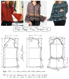 Refashion Dress, Diy Dress, Sewing Patterns Girls, Clothing Patterns, Sewing Blouses, Sewing To Sell, Make Your Own Clothes, Fashion Design Drawings, Mode Hijab