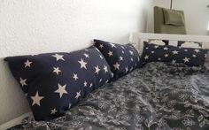 Barnkuddar till sängen. DIY