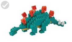 Stegosaurus made with micro-sized building blocks Contains over 100 individual pieces, from 4 x 4 x Combine with other animals from nanoblock's Miniature Collection Hokkaido Dog, Toys For Little Kids, Construction Lego, Japanese Tree, Beautiful Home Designs, 3d Puzzles, Gadget Gifts, Back Plate, Creative Thinking