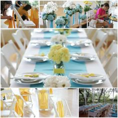 Biel Wedding - Yellow & Turquoise