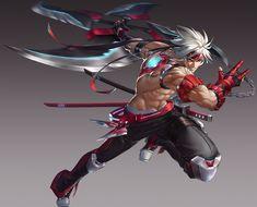 Fantasy Character Design, Character Design Inspiration, Character Concept, Fantasy Characters, Anime Characters, Ninja Art, Game Concept Art, Fantasy Warrior, Fantasy Male