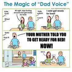 """The Magic of """"Dad Voice"""""""