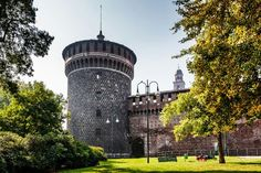 8 must see places when in Milan.  Visit Sforza Castle.