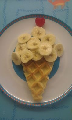 Such a cute breakfast idea for kids!
