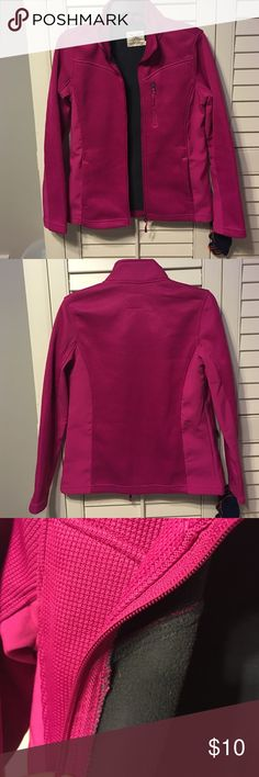 DONATING 8/10 🥀 pink zip up Cute casual or athletic wear Zip up. Barely worn. Good condition, nice material. Was bought as a gift but fits a little large on me. Faded Glory Jackets & Coats